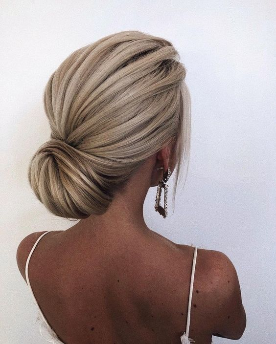 formal updo hair style