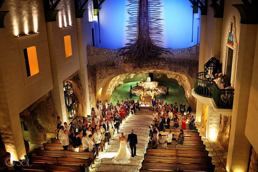 Chapel of Guadalupe wedding ceremony